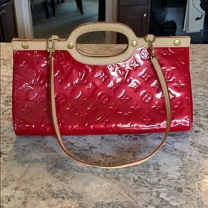 Red Louis Vuitton- authentic